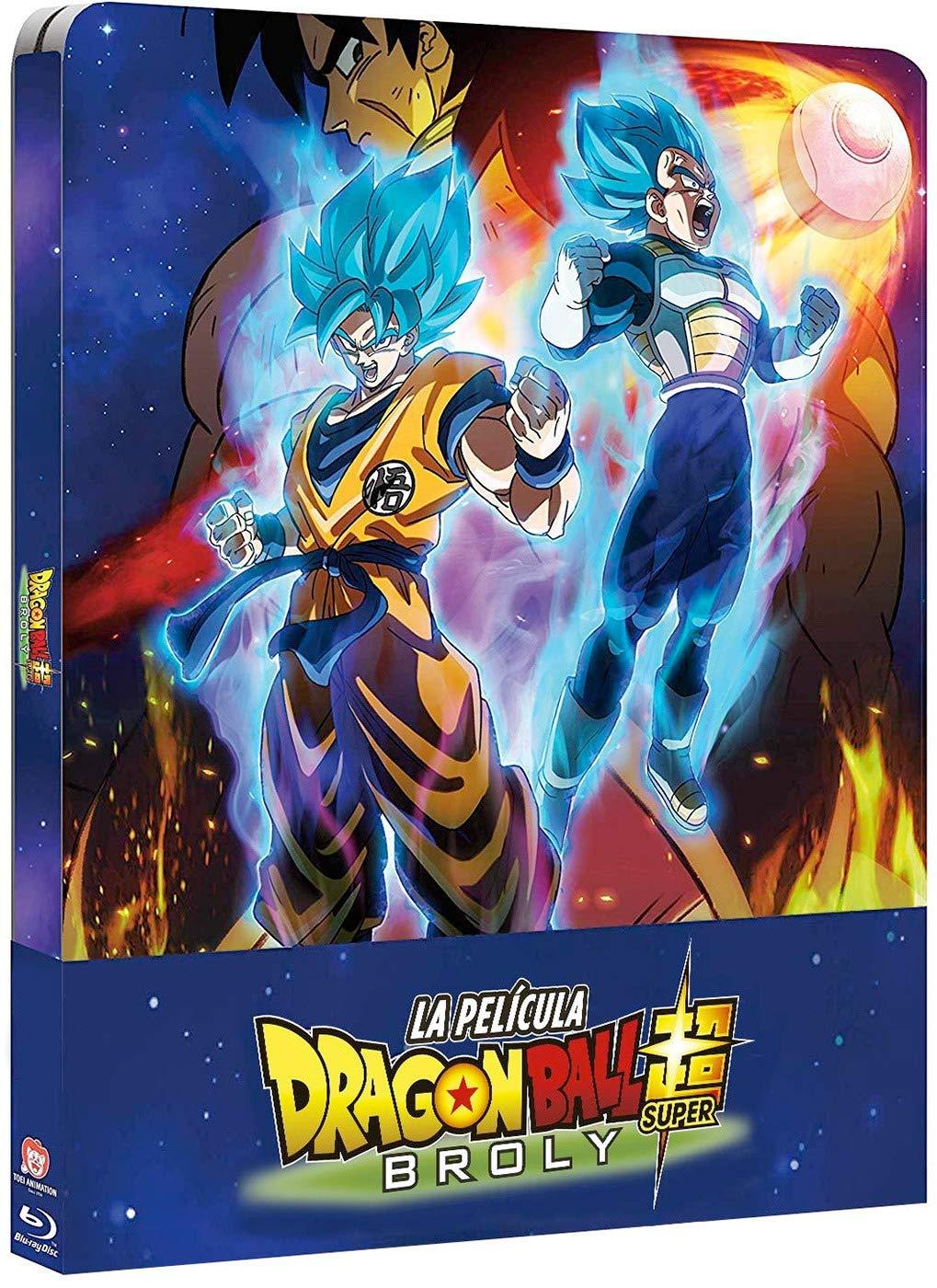 Dragon Ball Super Broly Bd Caja Metálica [Blu-ray]: Amazon.es: Animación, Tatsuya Nagamine, Animación: Cine y Series TV