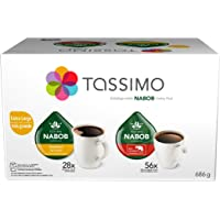 Tassimo Nabob Coffee Variety Pack Single Serve T-Discs, 84 Count