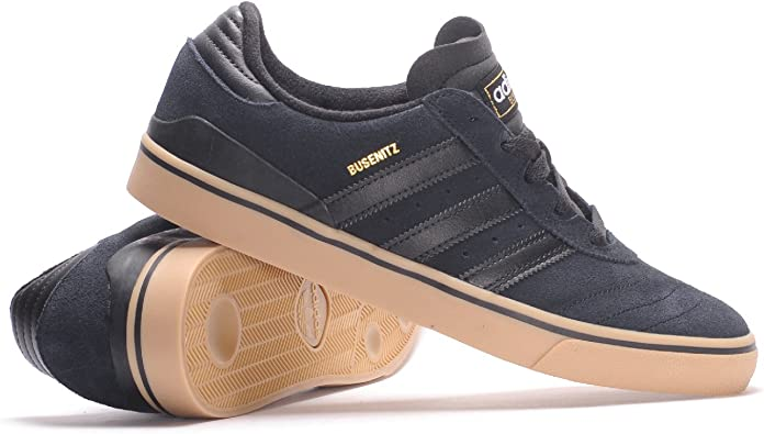 Falsificación Inscribirse reflejar  Adidas Busenitz Vulc ADV (Core Black/Core Black/Gum) Men's Skate Shoes-14:  Amazon.ca: Shoes & Handbags