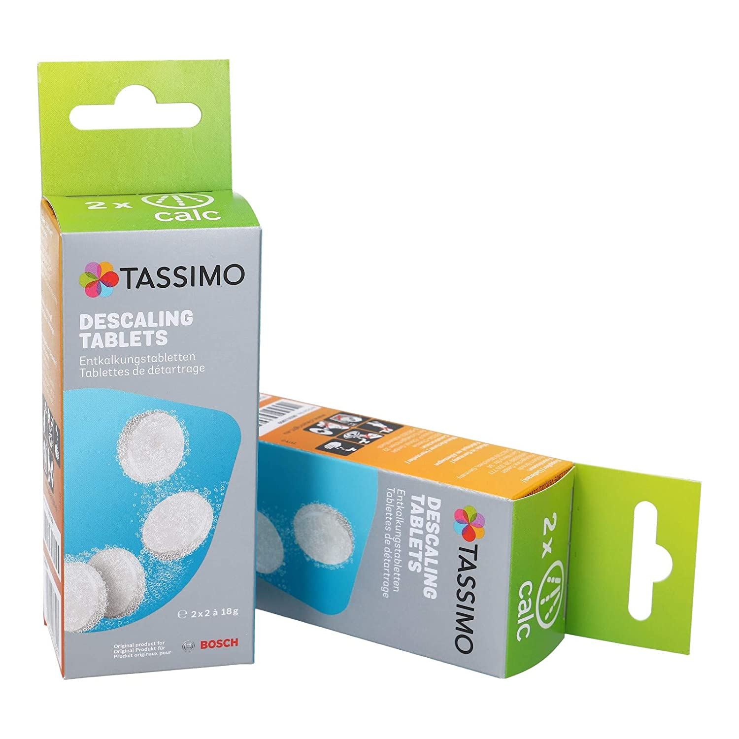 Bosch Original Tassimo Descaling Tablets Multi Pack 8 Tablets (4 x 2) by Tassimo