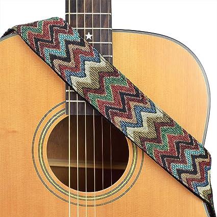 Correa para guitarra clásica serie de tela de algodón para ...
