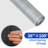 36inch Hardware Cloth 100 ft 1/4 Mesh Galvanized