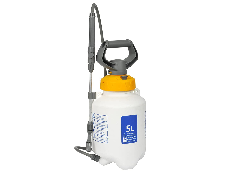 hozelock 5l pressure sprayer garden fertilizer watering. Black Bedroom Furniture Sets. Home Design Ideas
