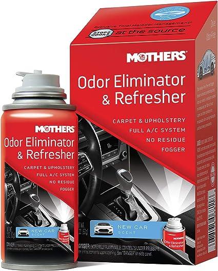 Car Odor Eliminator >> Mothers 06811 Odor Eliminator Refresher New Car Scent