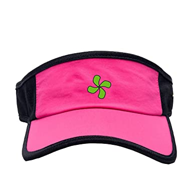 ceiling fan hat. Women Tennis Visor Embroidered Ceiling Fan Hat Outdoor Running Breathable Cap (Pink)