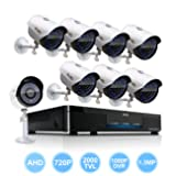 ELEC 8CH 720P CCTV Network Mobile Motion