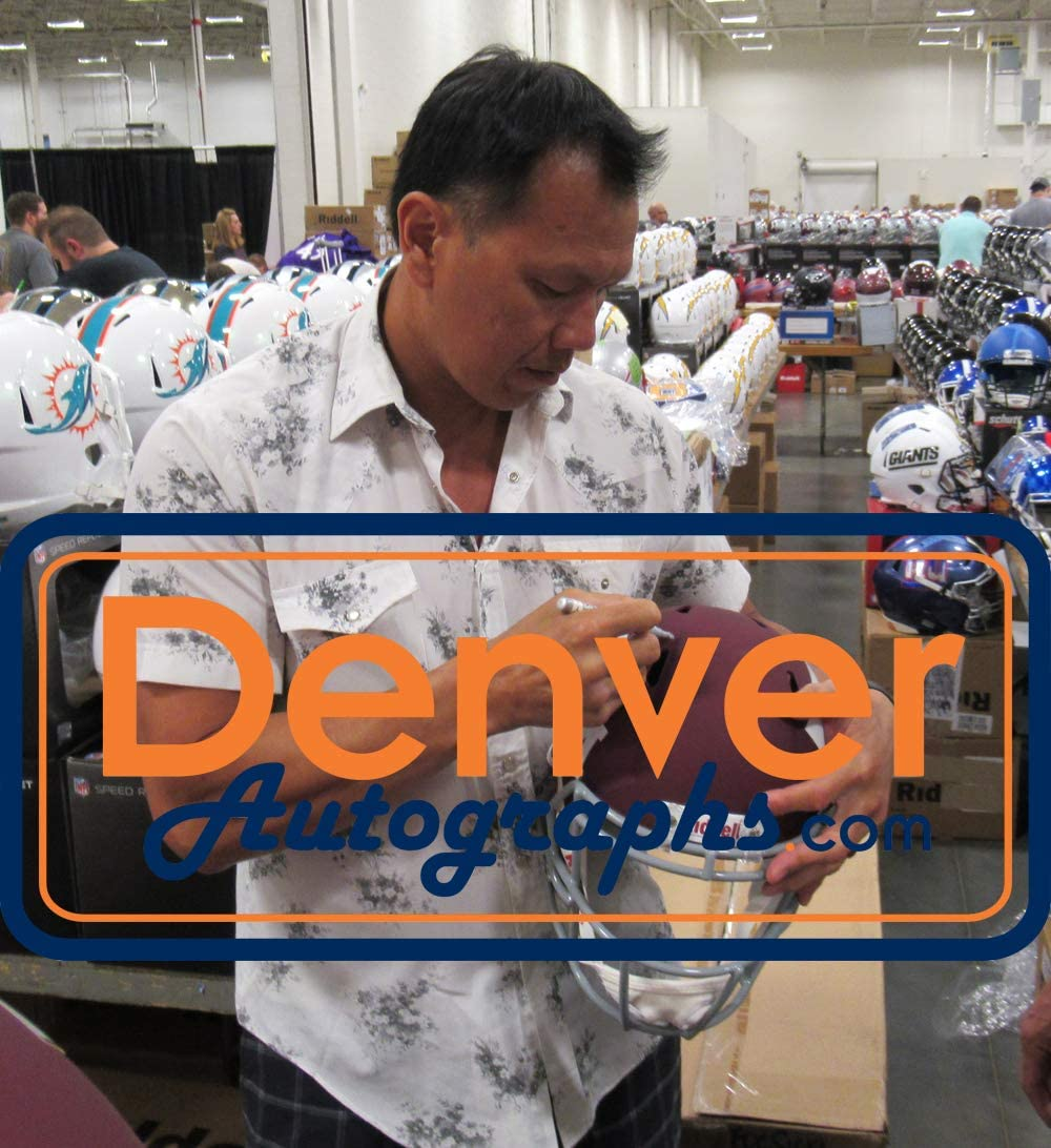 Dat Nguyen Autographed Texas A/&M Aggies Speed Replica Helmet 4 Insc JSA
