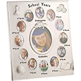 Elegance 63502 School Years Photo Frame, Silver