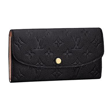 95de60a4c99f1 Louis Vuitton Monogram Empreinte Leather Emilie Wallet Noir Article ...