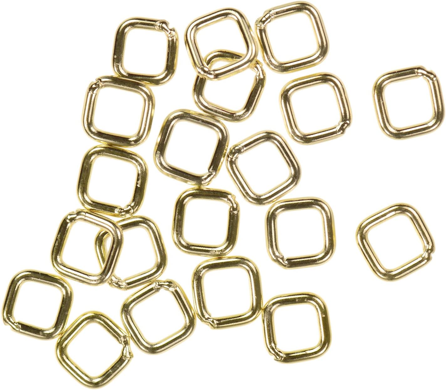 20 Piece 5 mm 14k Gold Filled Closed Jump Rings