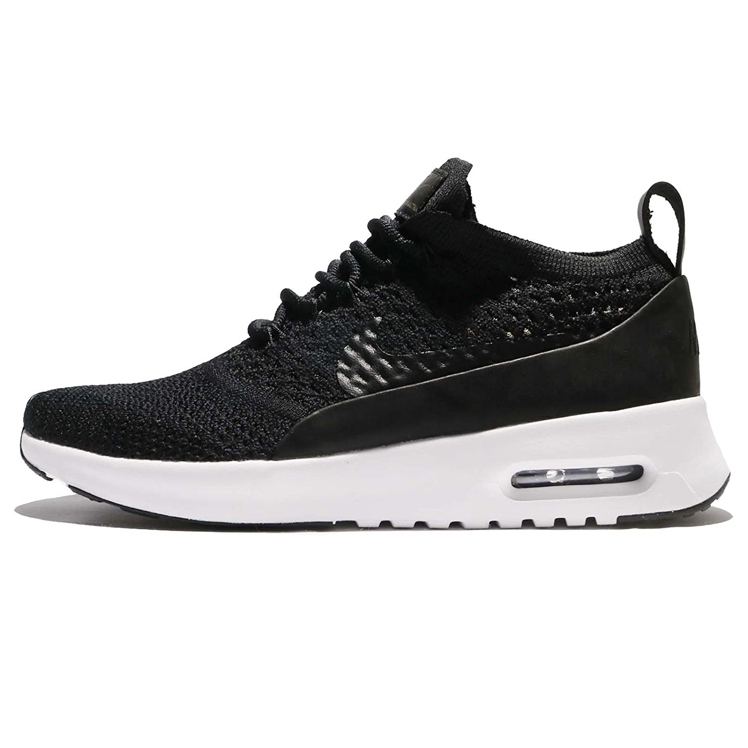 quite nice e119a 039b8 Amazon.com   NIKE Women s W Air Max Thea Ultra FK PNCL, Black Black-White, 8  US   Road Running