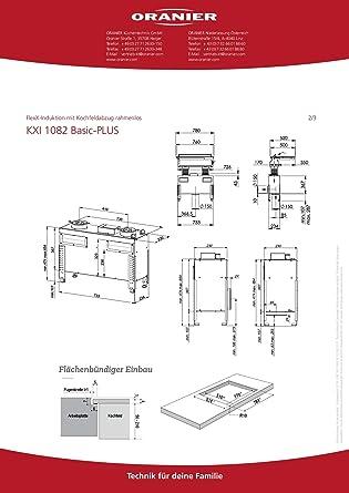 Oranier KXI 1082 Basic-Plus 1082 80 - Juego de cocina de inducción: Amazon.es: Grandes electrodomésticos
