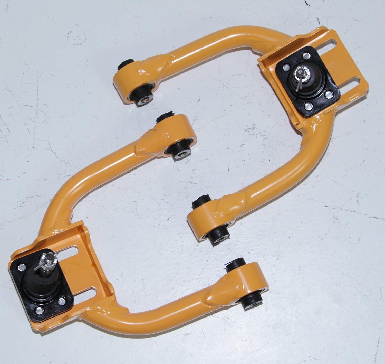1 PAIR Front Upper Tubular ADJ.Camber Arm for 1996-2000 Honda Civic BLUE