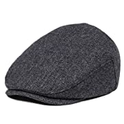 JANGOUL Kids Wool Tweed Flat Cap Herringbone Boy Girl Newsboy Caps Infant Toddler Child Youth Beret Hat Ivy Gatsby Cap (48cm, Style 6)