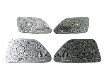 ABS Chrome Door Audio Speaker Cover Trim for Mercedes Benz W222 S Class 14-17
