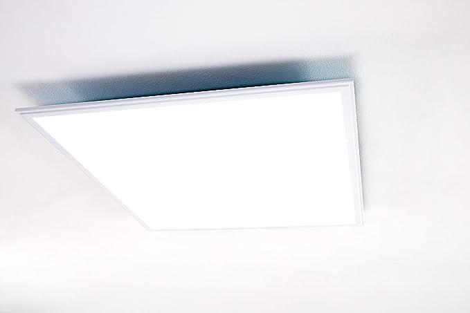 Plafoniere Led Per Ufficio : Plafoniera a led aml® pa 58 d per uffici e aree commerciali saloni