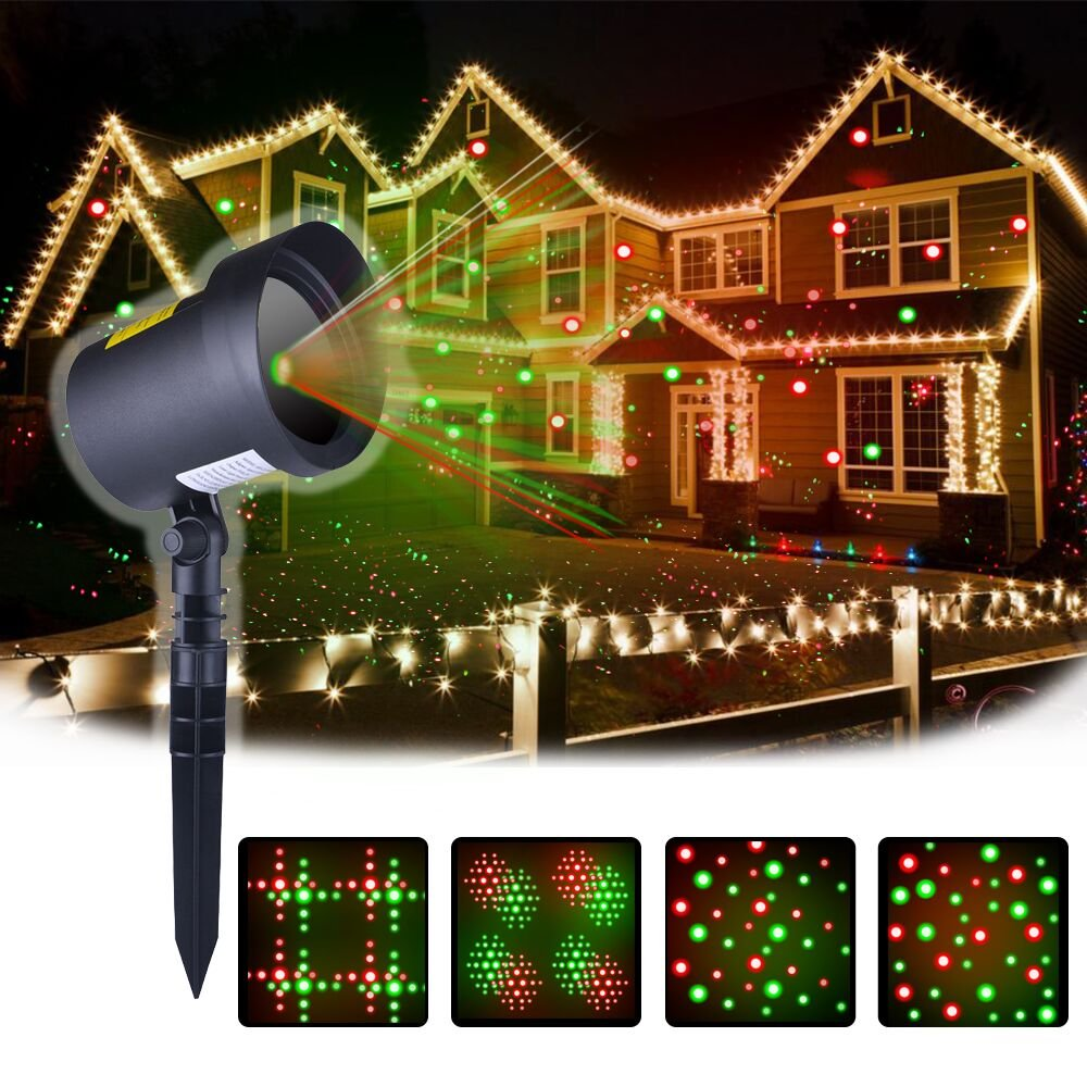 Amazon.com: Christmas Laser Lights Projector as Seen on TV ...