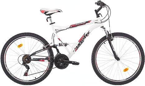 Velotec REBORN Bicicleta de montaña de doble suspension, rueda 26 ...