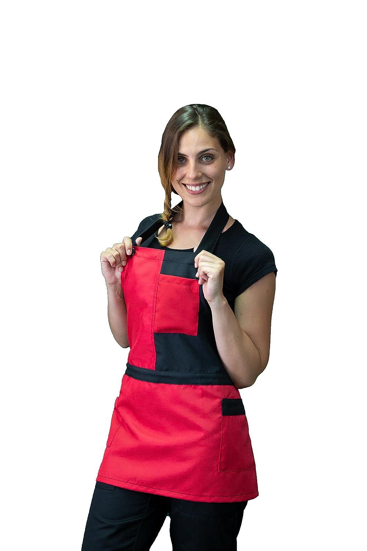 davantino Donna Cameriera Made in Italy Hotel Vari Colori Ristorante settori: ristorazione e Servizi Bar Pub Grembiule per Barista