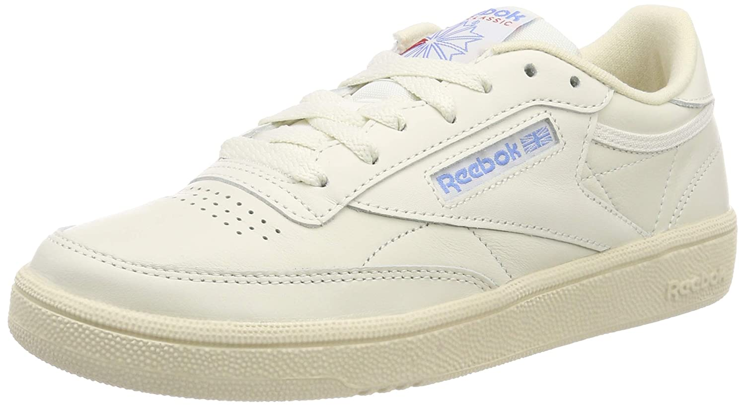 fee687413cf Amazon.com  Reebok Club C 85 Vintage Womens Sneakers White  Clothing