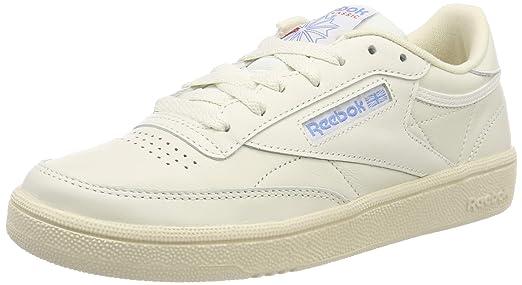 d65cb9ffb24c5b Amazon.com  Reebok Club C 85 Vintage Womens Sneakers White  Clothing
