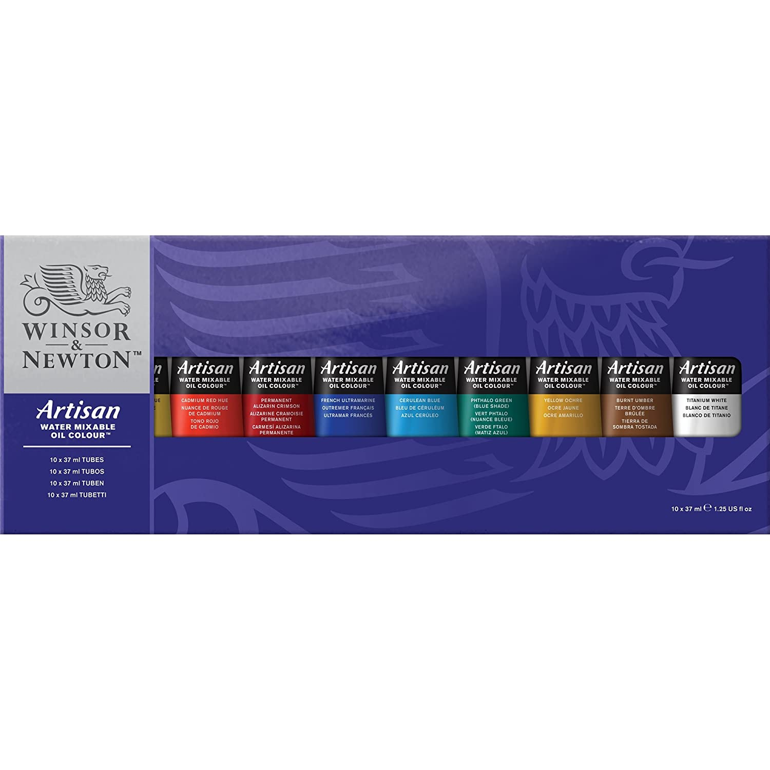 Winsor & Newton Artisan Water Mixable Oil Color Studio Set 1590252