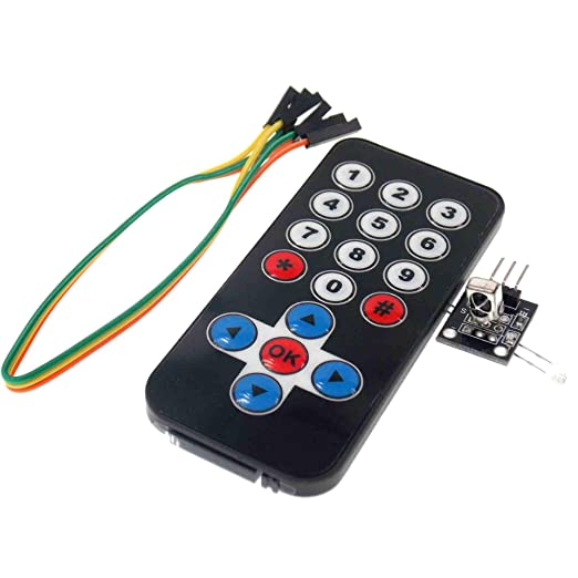 New Infrared IR Wireless Remote Control Module Kit IFR RC Set for Arduino AVR