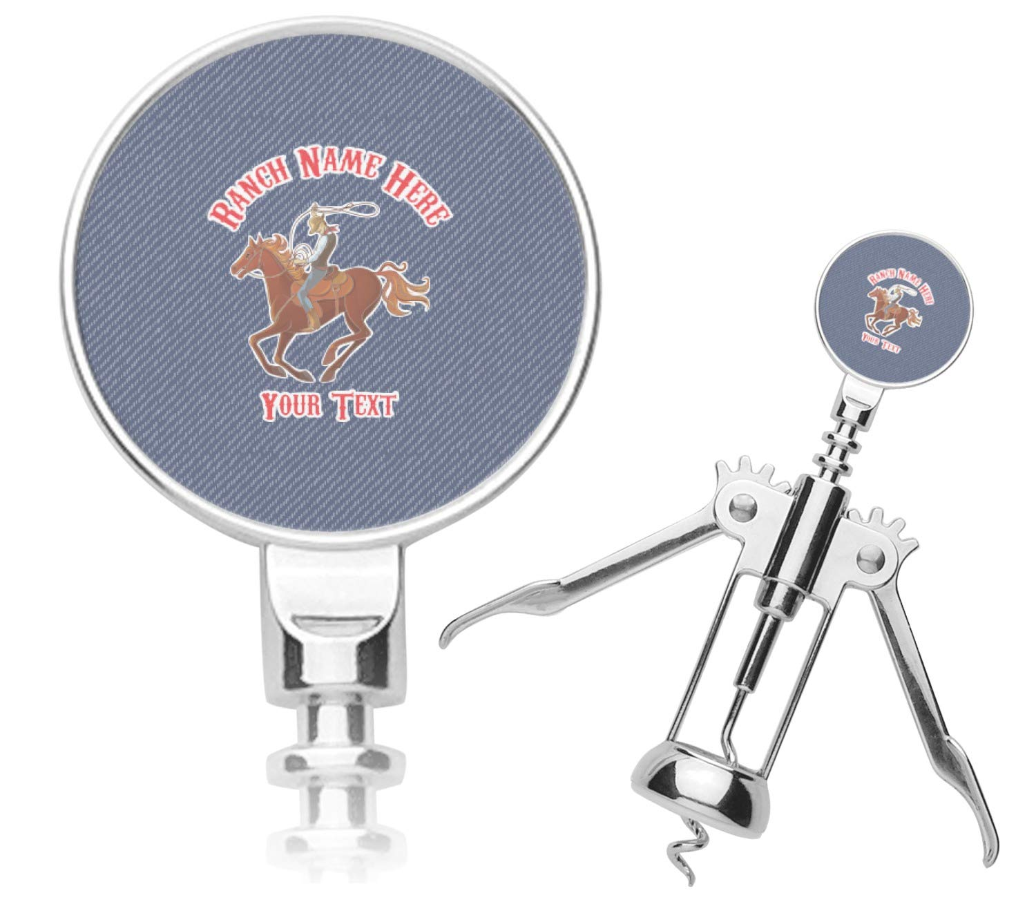 Western Ranch Corkscrew (Personalized) by YouCustomizeIt