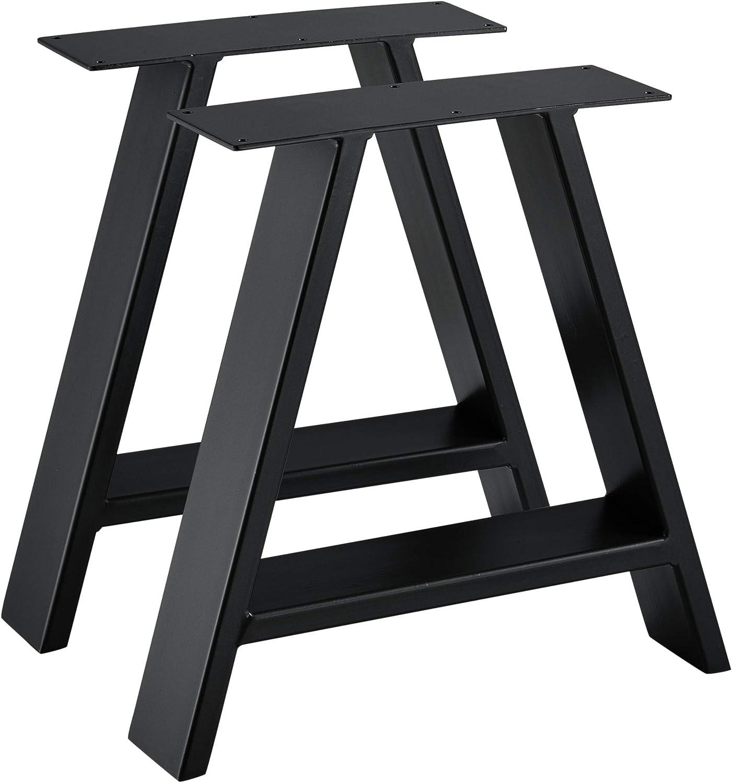 4x Tischgestell Gestell Tischbeine Couchtisch Tischkufen 30//40*40cm 50//70*72cm