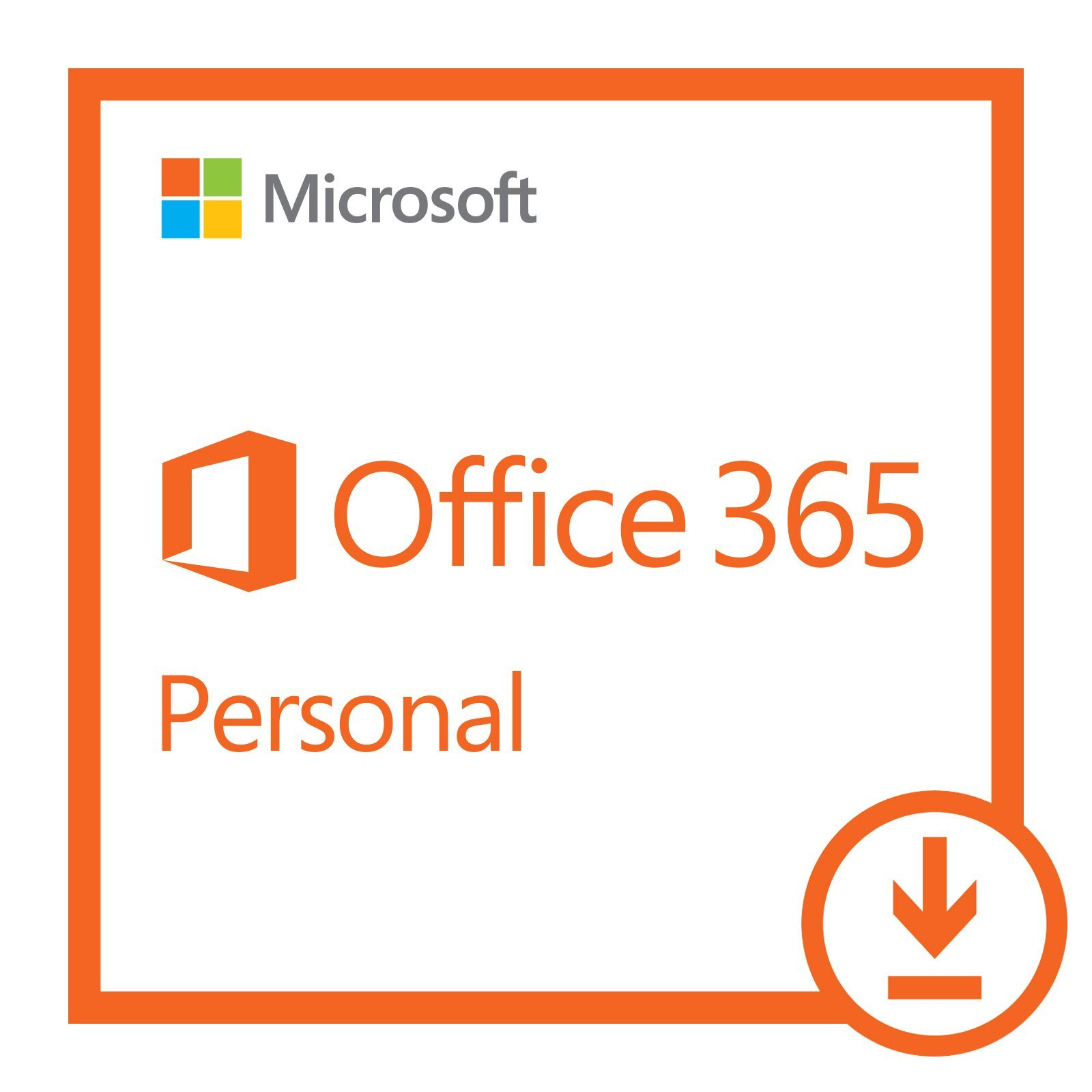 Microsoft Office 365 Personal | 1-year subscription, 1 user, PC/Mac Download by Microsoft