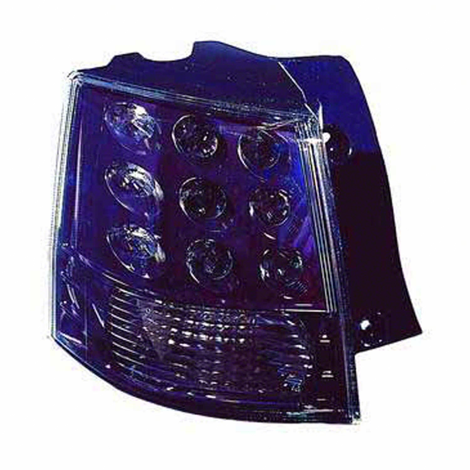 Partslink Number MI2804104 Multiple Manufacturers MI2804104N OE Replacement Tail Light Assembly MITSUBISHI OUTLANDER