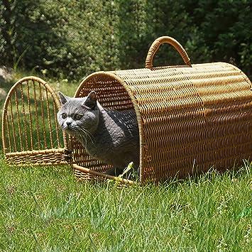 FPigSHS Casa del Gato Caseta de Perro Perrera Cama para Mascotas Nido de Gato Villa de Arena para Gatos Suministros para Mascotas Cuatro Estaciones ...