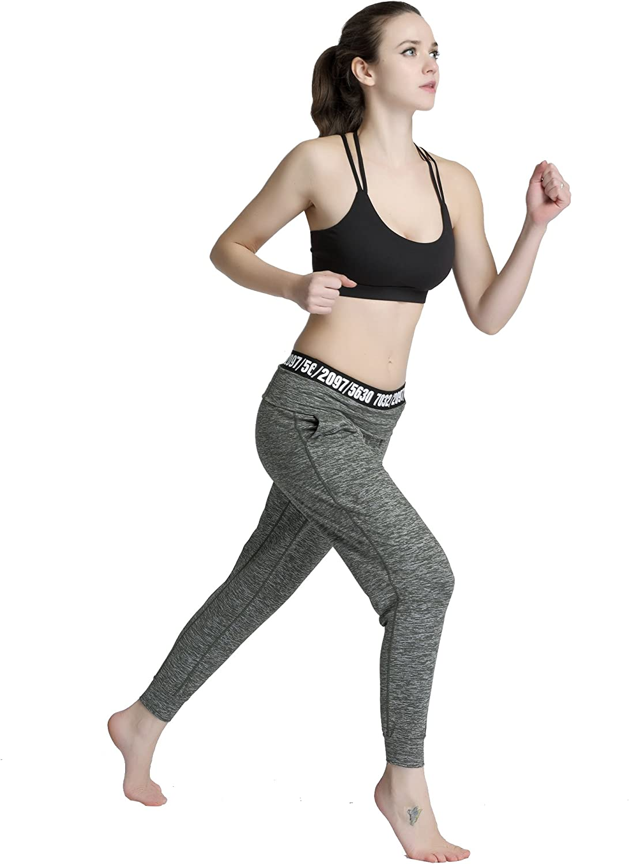 Snailify Womens Sports Bra High Impact Crisscross Racerback Wireless Halter Strappy Padded Workout Yoga Gym Bras