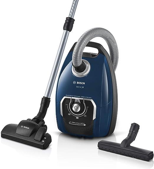 Bosch Hausgeräte Serie 8 Aspirador con Bolsa, Azul: Amazon.es: Hogar