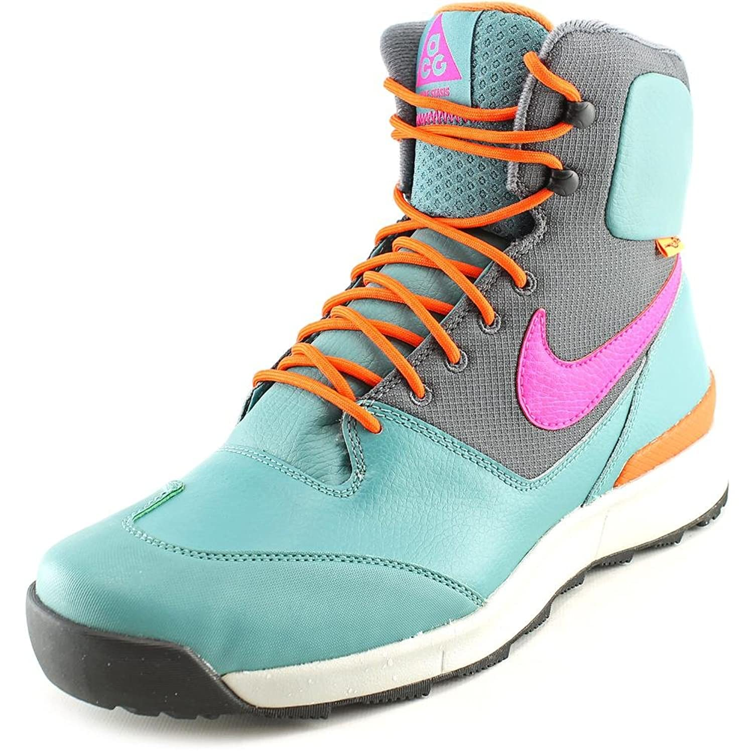 NIKE STASIS ALL CONDITIONS GEAR BOOTS MINERAL TEAL PINK FOIL