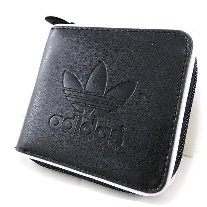 grande vente 6f980 c1be9 Adidas [J3036] - Portefeuille 'Adidas' noir: Amazon.fr ...