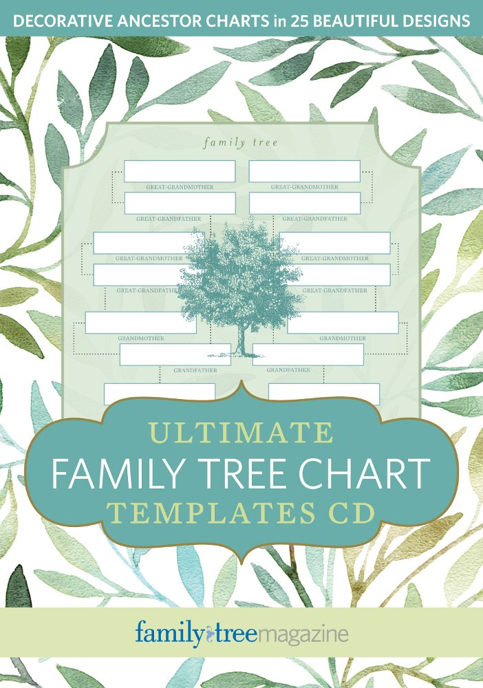 Ultimate Family Tree Chart Templates Cd Family Tree Editors