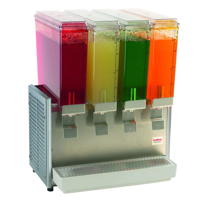 Grindmaster Cecilware E49-3 Crathco Classic Bubbler Mini Pre-Mix Cold Beverage Dispenser