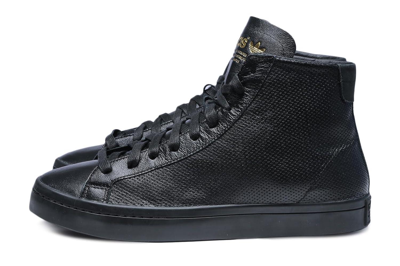 Men s Adidas CourtVantage Mid Black Leather Trainers S80007 (UK 7.5)   Amazon.co.uk  Shoes   Bags 212227279