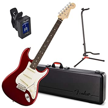 Fender American Pro Stratocaster Rw Candy Apple rojo guitarra ...
