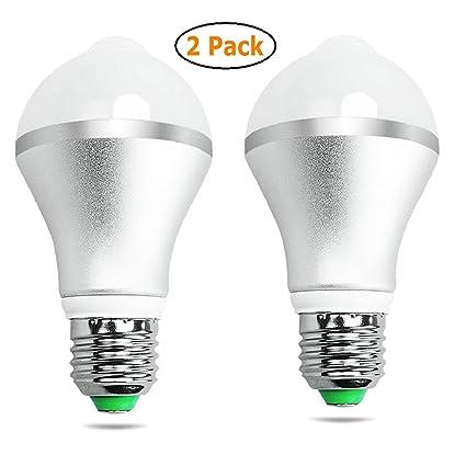 GuDoQi® Sensor De Movimiento Bombilla Bombillas LED Luces Auto Encendido/Apagado De Noche Para
