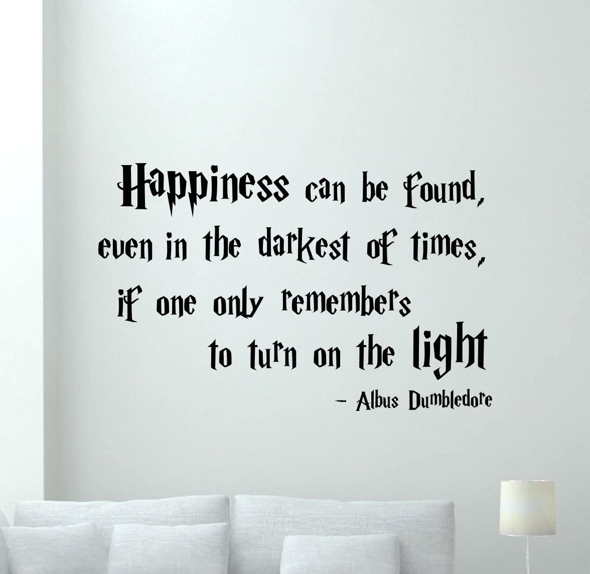 com harry potter quotes wall decal happiness can be found