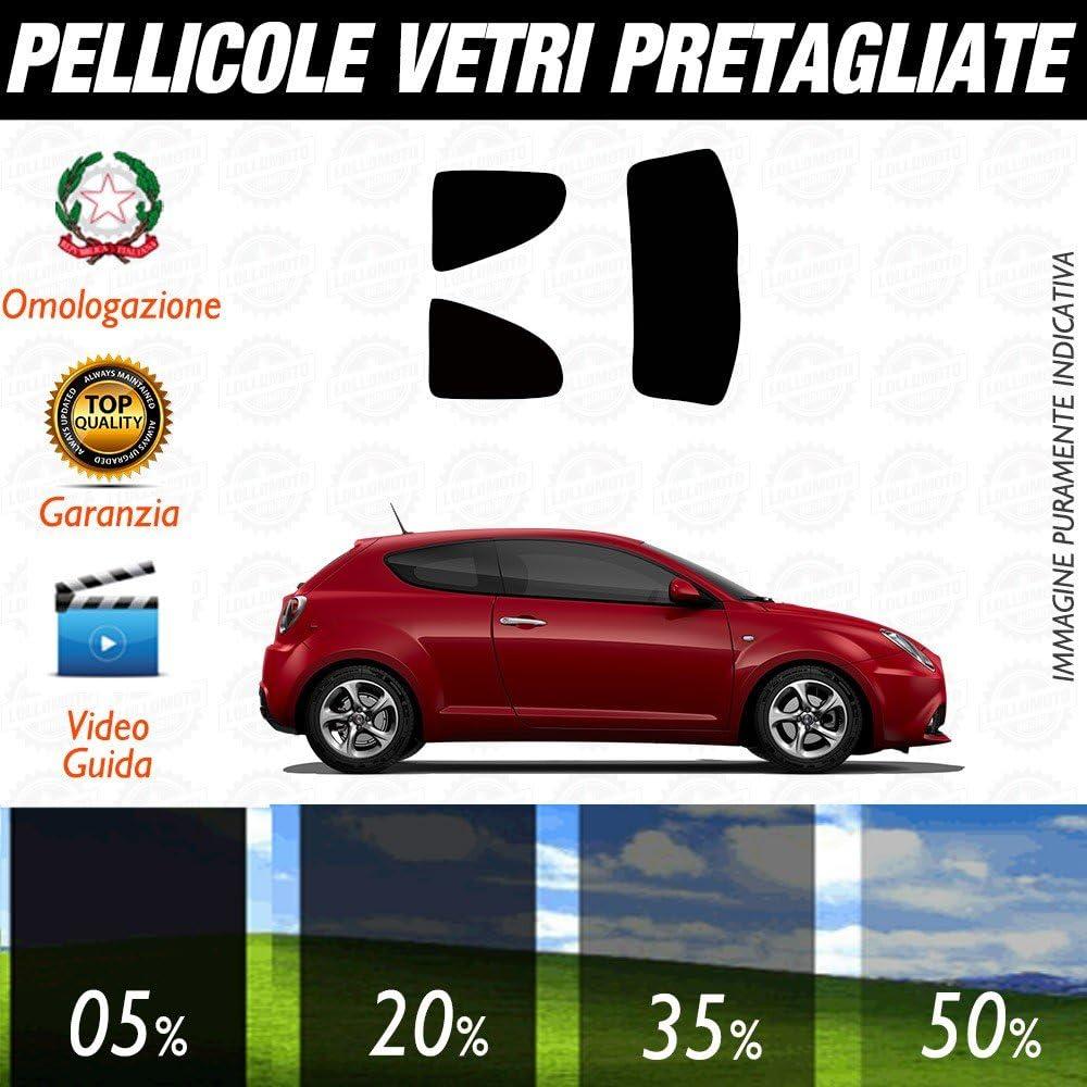 SLONGK 4 Pezzi Adesivi per davanzali Auto in Fibra di Carbonio Tuning Accessori Auto per Alfa Romeo Giulia Giulietta 159 156 Mito Stelvio 147 GT