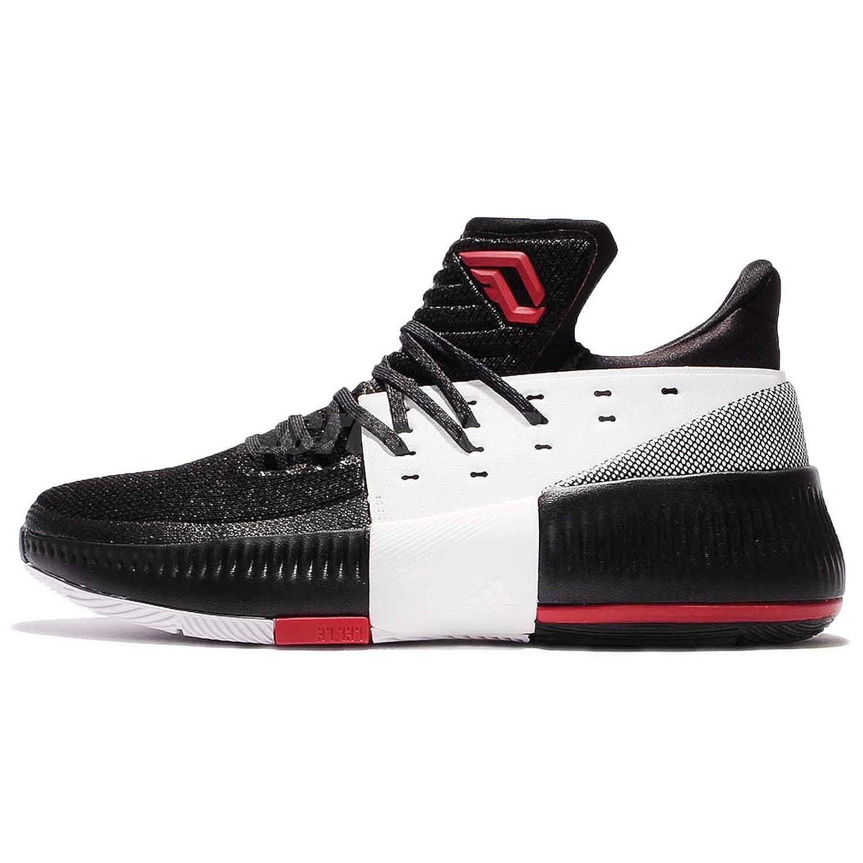 Image of adidas Dame 3 On Tour Shoe - Men's Basketball 18 Core Black/Utility Black/White Basketball