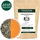Imperial White Tea Leaves from Himalayas, World's Healthiest Tea Type, Powerful Anti-Oxidants, White Tea Loose Leaf Hand-plucked at High Elevation Tea Estates, Floral & Delicious, 25 Cups, 1.76oz