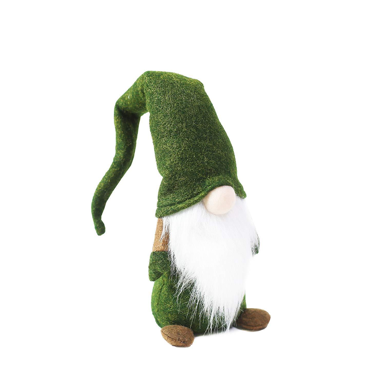 Figurines Plush de GNOME Scandinave P/ère No/ël Ornements de GNOME Elf Home Christmas Decoration Cadeau de Thanksgiving Day Main Tomte Su/édois