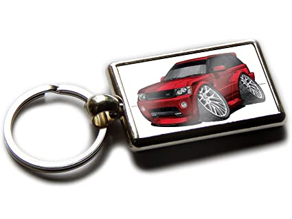 Range Rover Sport Nuevo SUV coche calidad Llavero de cromo ...
