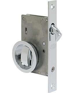 Gobrico Satin Nickel Wave Style Privacy Euro Door Lever Hardware ...