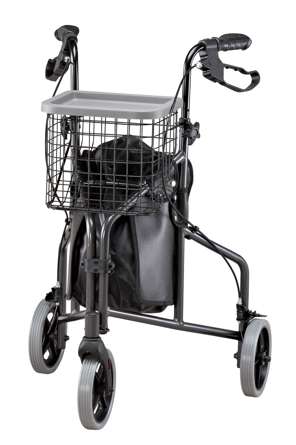 3 Wheel Aluminum Rollator by EasyComforts