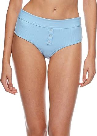 Body Glove Womens No Scrubs Retro Bandeau Swimwear Bikini Top